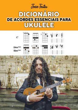 Livro Dicionário de acordes essenciais para ukulele